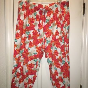 Lane Bryant Cacique pajama bottom capris 18/20